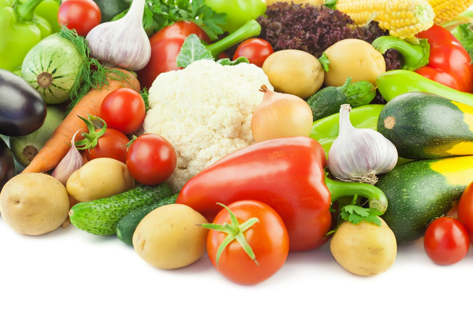 healthy eating fresh vegetables